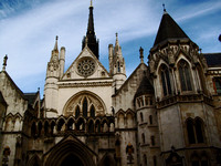 The Royal Courts of Justice""