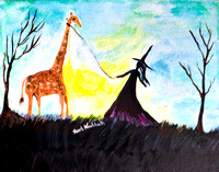 """The Witch and her Giraffe"""